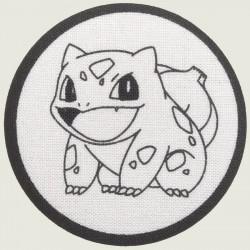 Bulbasaur stof button