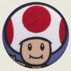 Toad button 38 mm