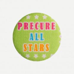 Precure All Stars button groen
