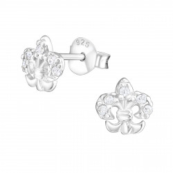 French Lily Earrings