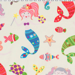 Mermaid fabric
