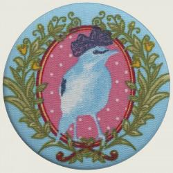 Bird pocket mirror