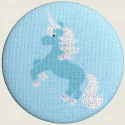 Unicorn mirror mint