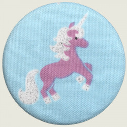 Unicorn magnet pink