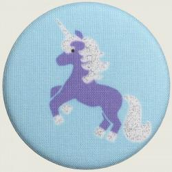 Unicorn magnet purple