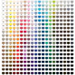Gütermann color chart