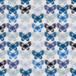 Gestileerde vlinders stof. Gemaakt in Japan voor Cotton+Steel