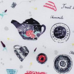 Teapots fabric