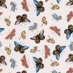 Butterfly fabric Monarch cream by Cotton+Steel