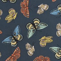 Vlinder stof Monarch (Canvas)