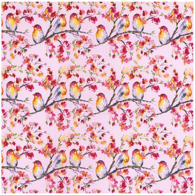 Sweet Melody bird fabric by Riley Blake designs