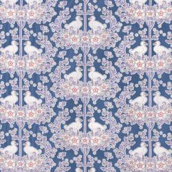 Duck Nest Fabric blue by Tilda