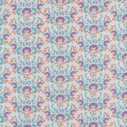 Lazy Days Fabric lilac by Tilda
