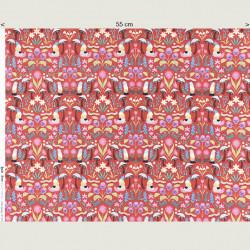 Gnome Fabric Jolly Spring, half width