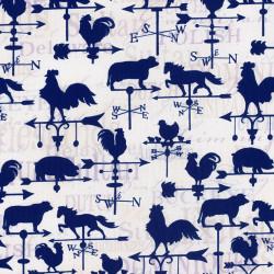 Wind Vanes Fabric