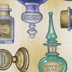 Potions Fabric, detail