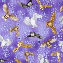 Magic Owl Fabric, Harry Potter Fabric