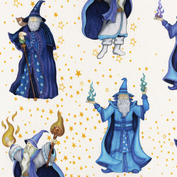 Mage fabric Spellbound by Quilting Treasures