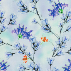 Periwinkle fabric