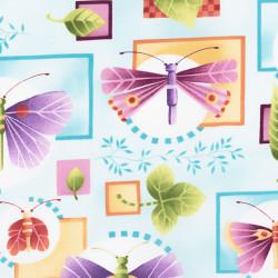 Butterfly Fabric Claire de Lune