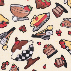 Sweet Pastry Fabric, detail