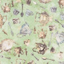 Theeservies stof Tea Time van Clothworks