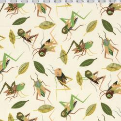 Grasshopper fabric
