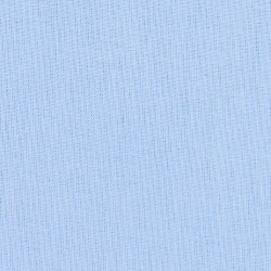 Solid light blue cotton fabric