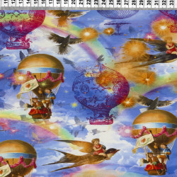 Air balloons fabric
