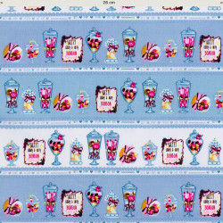 Candy store fabric