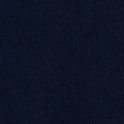 Effen donkerblauwe katoenen stof
