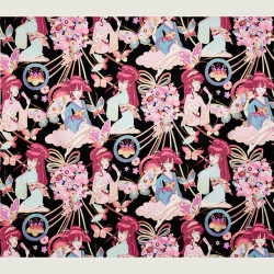 Miss Butterfly fabric