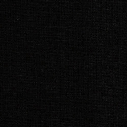 Solid black cotton fabric
