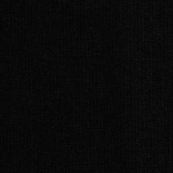 Effen zwarte katoenen stof