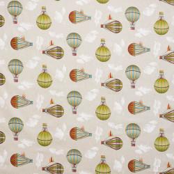 Luchtballon canvas stof