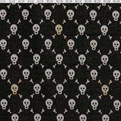 Skull fabric jersey