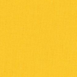 Effen gele katoenen stof