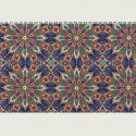 Sjaal Pompon paars