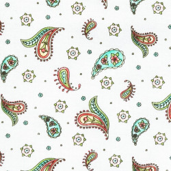 Little paisley fabric