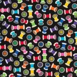 Spools of thread fabric