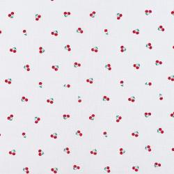 Small cherry fabric