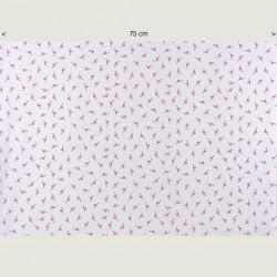 Little flamingos fabric, half width