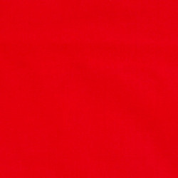 Uni cotton fabric red