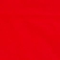 Uni katoenen stof rood