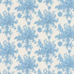 Tilda Botanical fabric blue