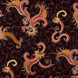 Dark brown Holland Batik...