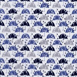 Umbrellas in the rain...