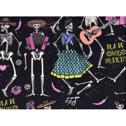 Day of the Dead fabric