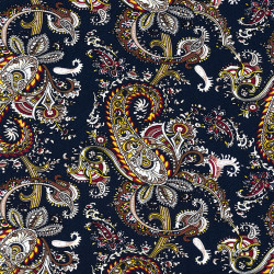 Paisley print fabric Light...
