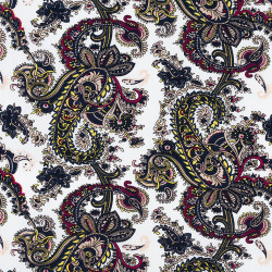 Paisley print fabric Dark...